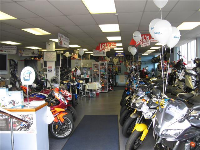 Flitwick Motorcycles Showroom