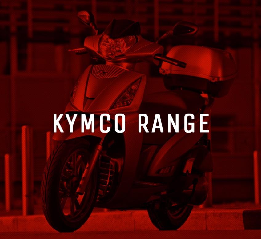 New Kymco Model Range
