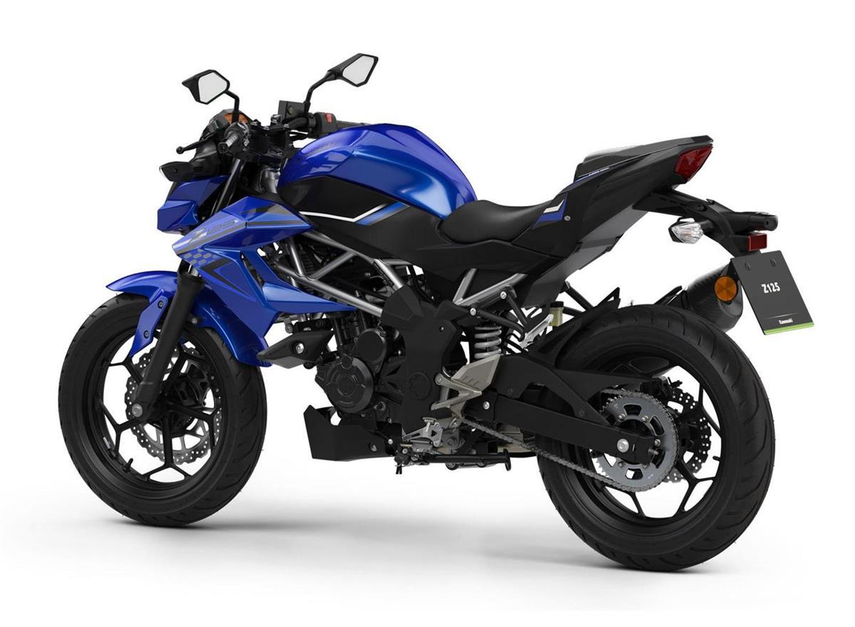 2019 Z125 Performance Blue - Image 1