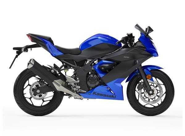 2019 Ninja 125 Blue - Image 2