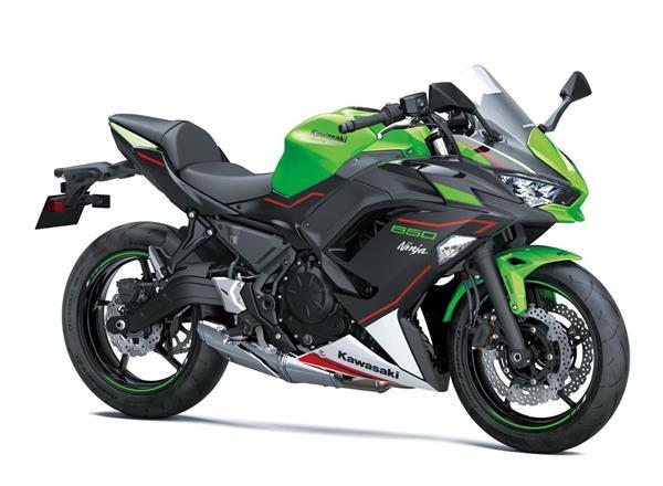 Kawasaki unveils a trio of 2021 twins