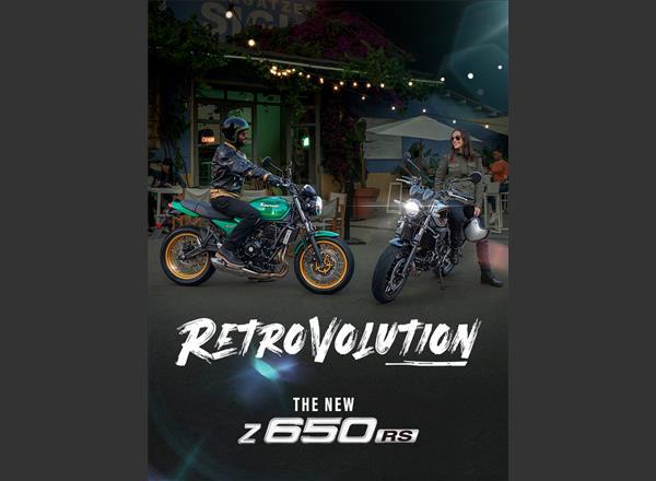 Retrovolution begins with 2022 Kawasaki Z650RS