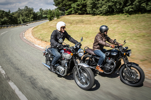 The New Triumph Bonneville T120 And T120 Black Timeless Icons