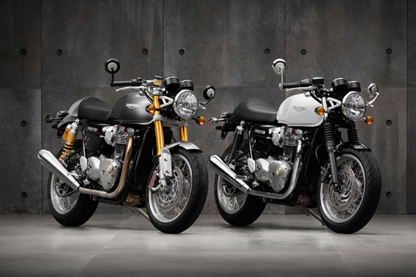 The new Triumph Thruxton and Thruxton R - The legend is back