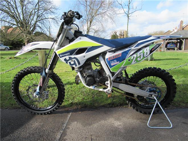 2017 Husqvarna TC85 Big Wheel (19/16) - 2-stroke MX - Image 1