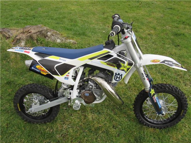 2017 Husqvarna TC50 Factory Rockstar Edition - BRAND NEW!! - Image 0