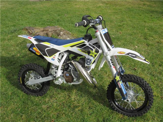 2017 Husqvarna TC50 Factory Rockstar Edition - BRAND NEW!! - Image 8