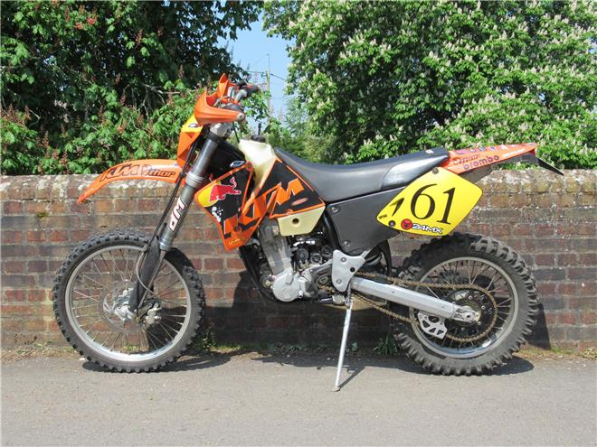 2002 KTM 400 EXC-F - Image 0