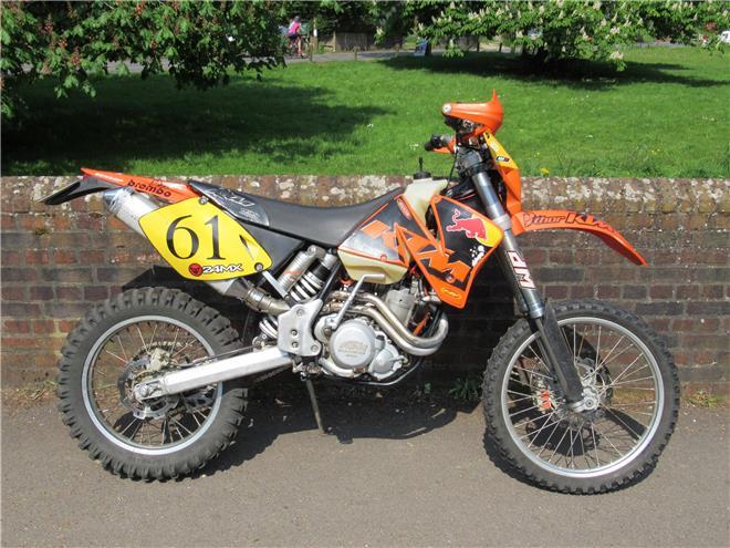 2002 KTM 400 EXC-F - Image 3