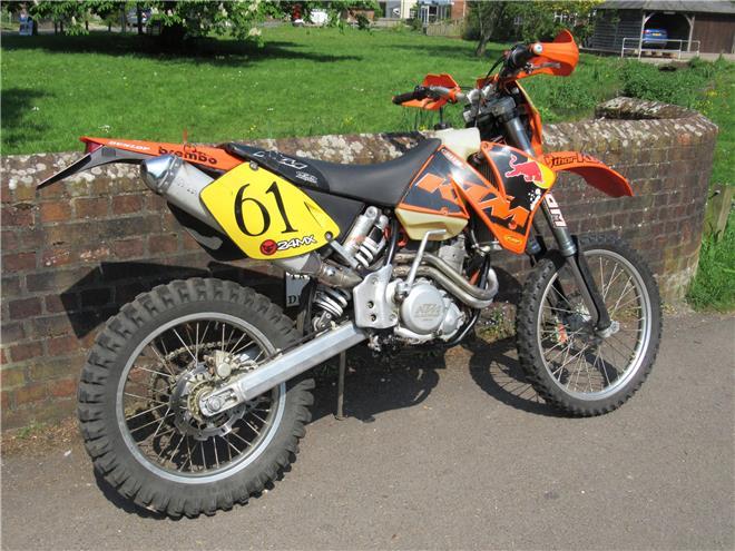 2002 KTM 400 EXC-F - Image 5