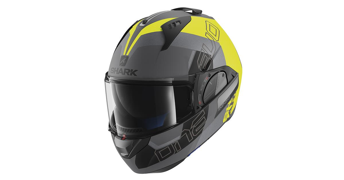 Shark Motorcycle helmets EVO-ONE 2 SLASHER MAT AYK