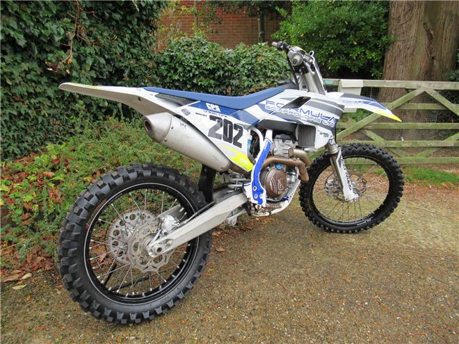 2018 Husqvarna FC350 - One keeper from new - Image 1
