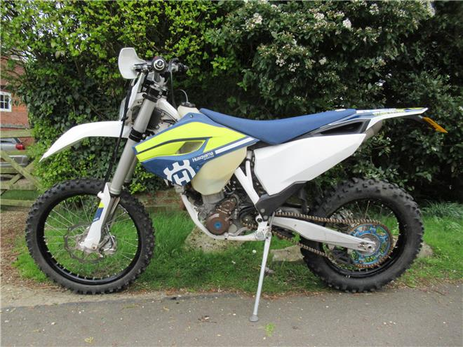2016 Husqvarna FE250 - 4-stroke, Electric start - Image 3