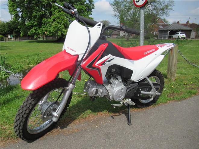 Honda CRF110F - Image 2