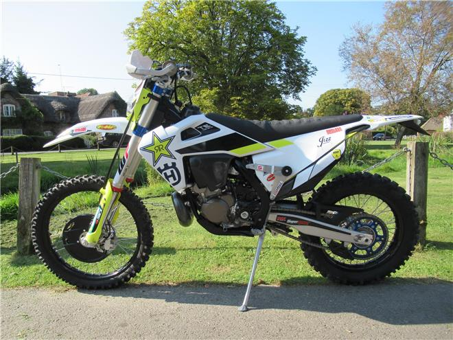 2020 Husqvarna TE300i Jarvis Edition - 2-Stroke, Enduro/Green-Lane, Electric start - Image 3