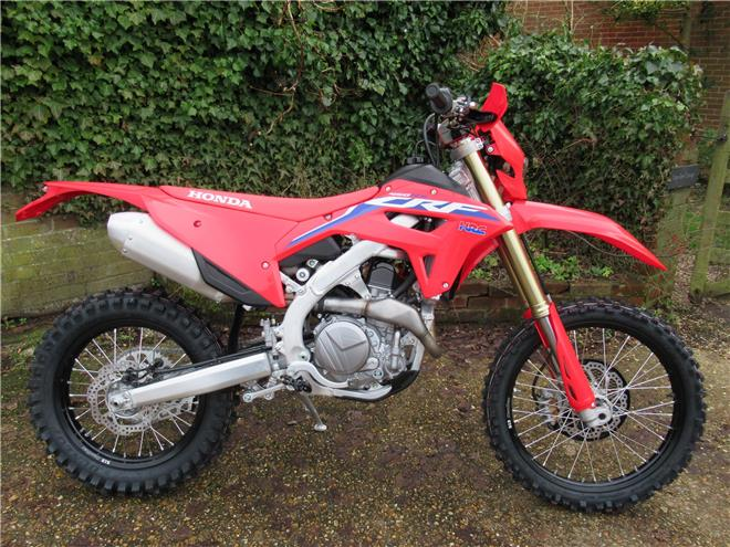 2021 Honda CRF450RX - BRAND NEW! Electric start - Image 3