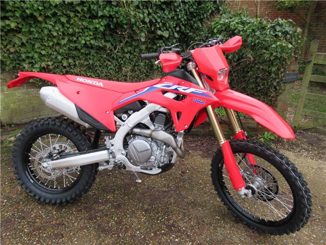 2021 Honda CRF450RX - BRAND NEW! Electric start - Image 0