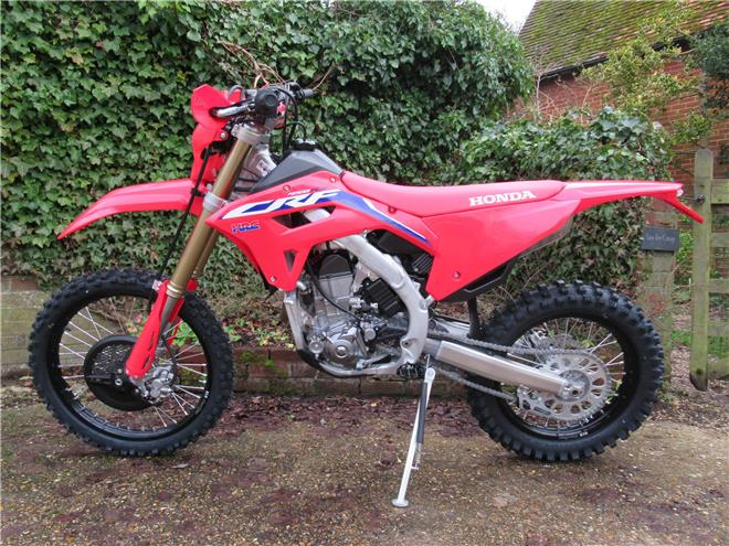 2021 Honda CRF450RX - BRAND NEW! Electric start - Image 4