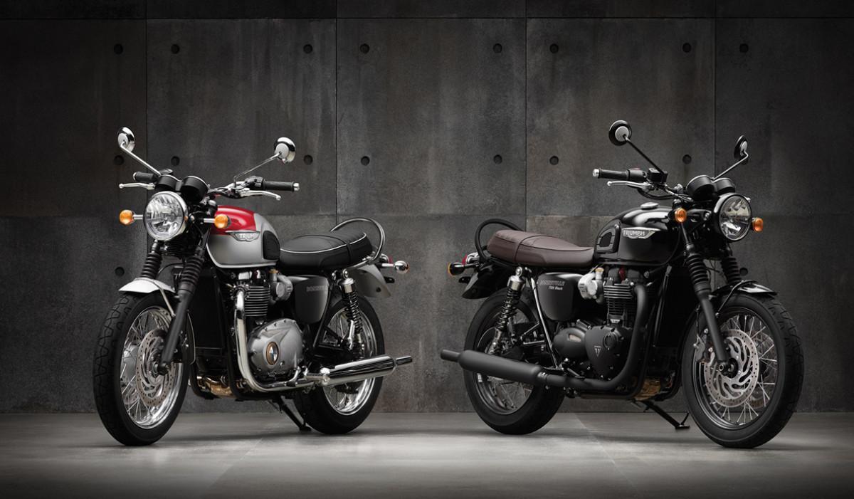 Bonneville T120 Range Dave Death Motorcycles