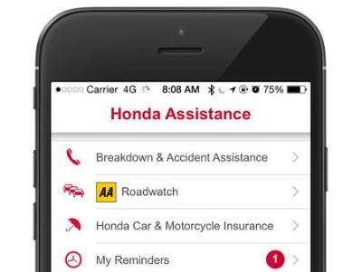 Honda Roadcare App