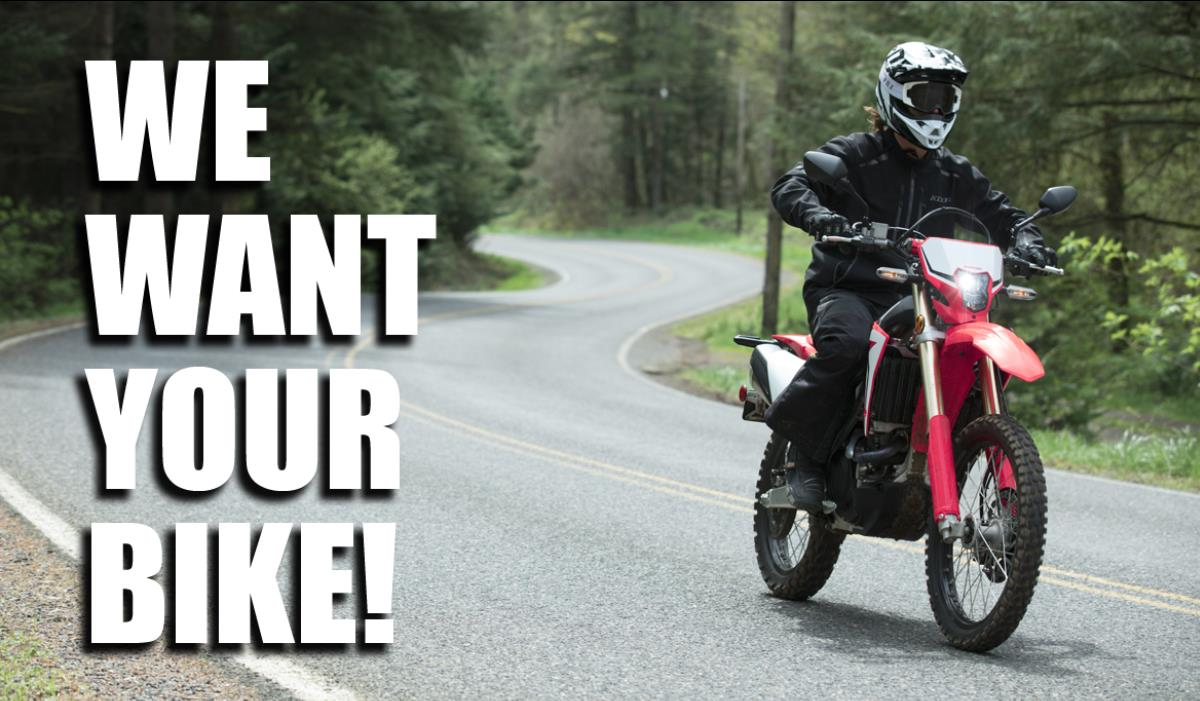 WE WANT YOUR BIKE! | Crescent Honda