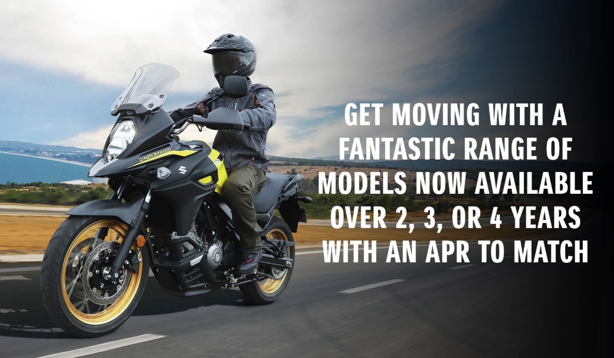 2 3 4 SUZUKI FINANCE OPTIONS | Arnolds Motorcycles