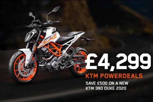 KTM 390 Duke 2020
