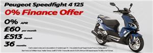 Speedfight 125 0% Finance Offer
