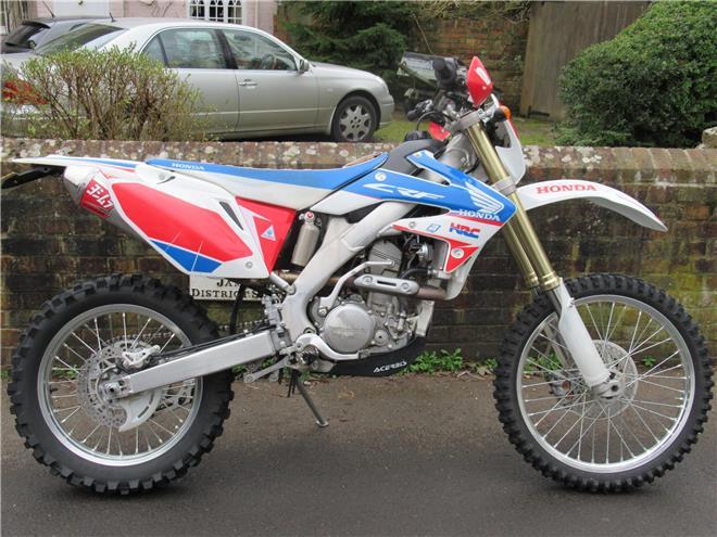Honda CRF250X-RL - Road Legal, Registered Trail Bike
