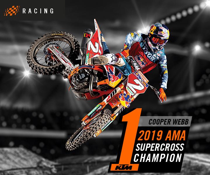 6/5/2019 - Cooper Webb wins AMA 450 title