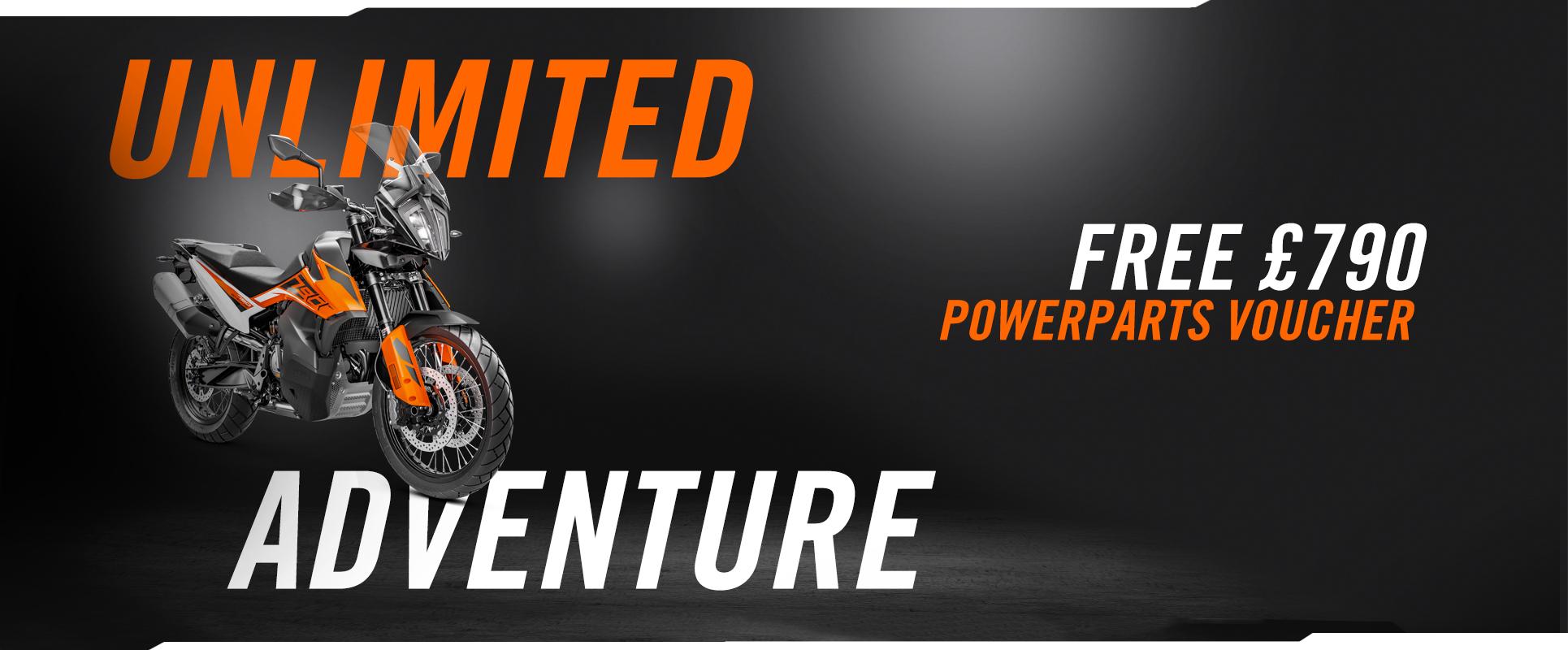 KTM 790 ADVENTURE: 790 Bonus