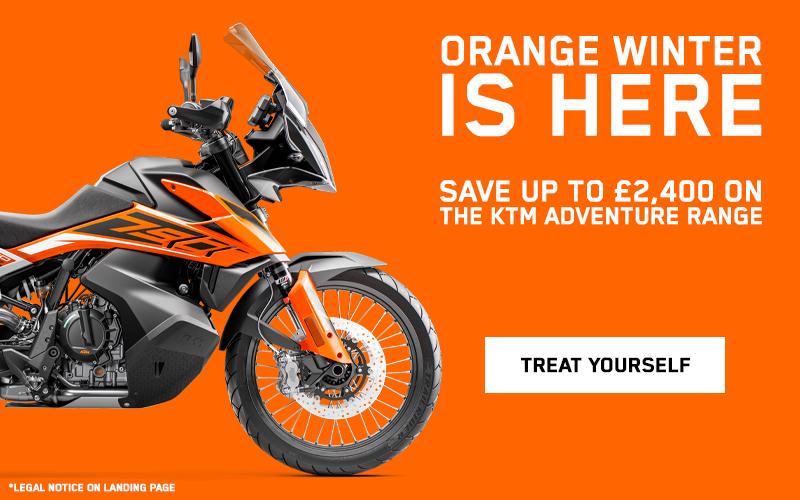 Orange Winter is here