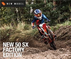 02/08/2021 - MEET THE 2022 KTM 50 SX FACTORY EDITION