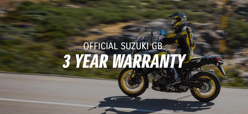 Official Suzuki GB 3 Year Warranty