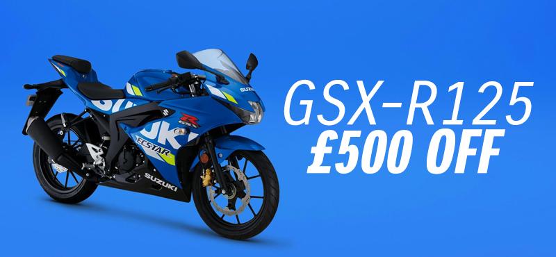 Money off the GSX-r125