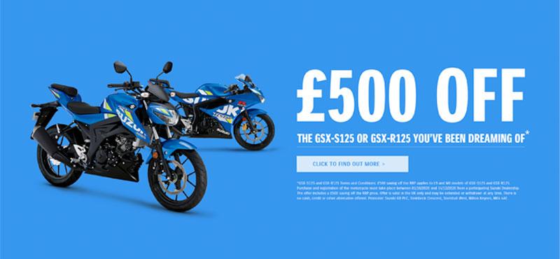 Money off the GSX-S125