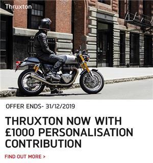 THRUXTON PERSONALISATION CONTRIBUTION