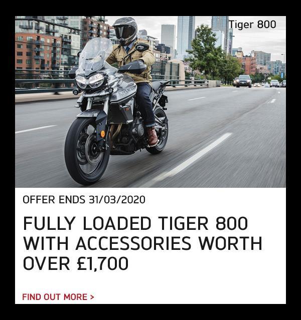 Tiger 800 Offer
