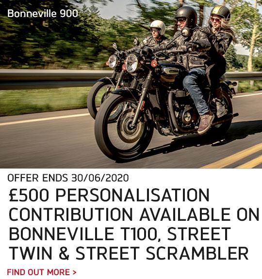 Bonneville 900 Offer