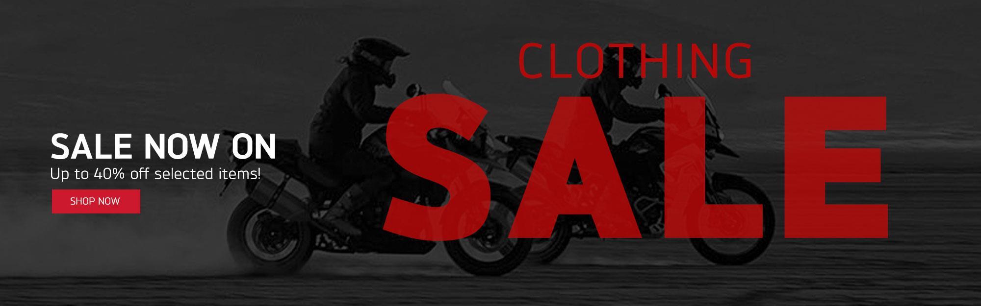 Clothing Sale Hero Banner