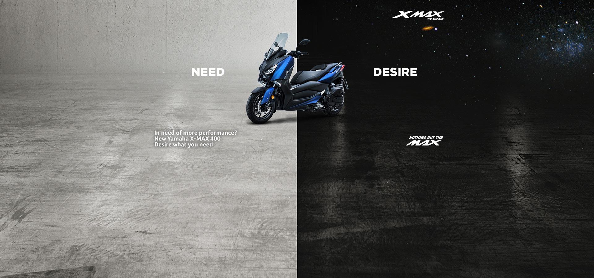 New X-MAX 400