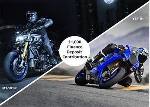 £1,000 Finance Deposit Contribution