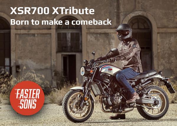 New XSR700 XTribute