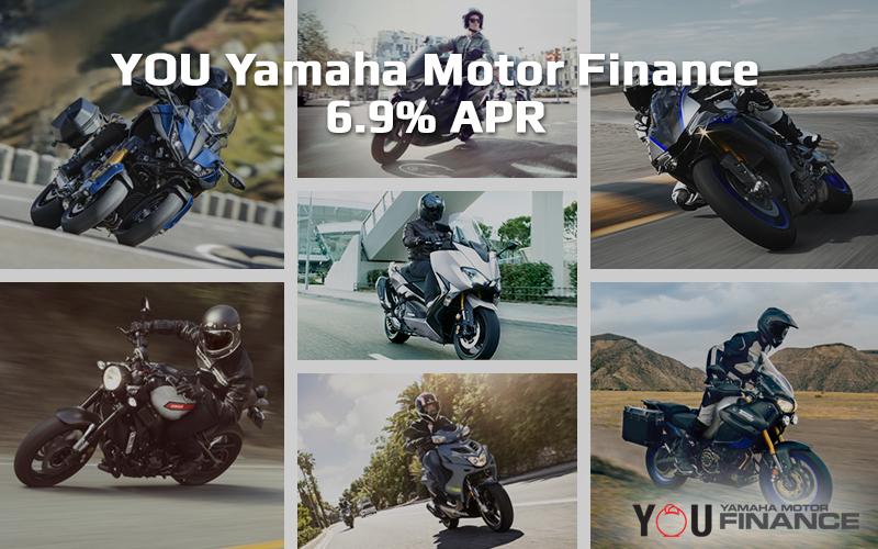 YOU Yamaha Motor Finance - 6.9% APR