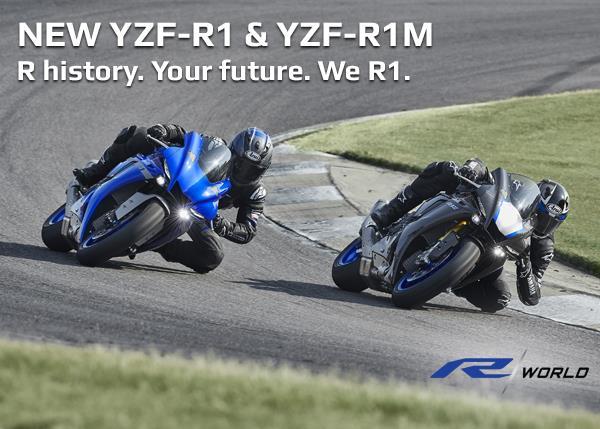 New YZF-R1 & YZF-R1M