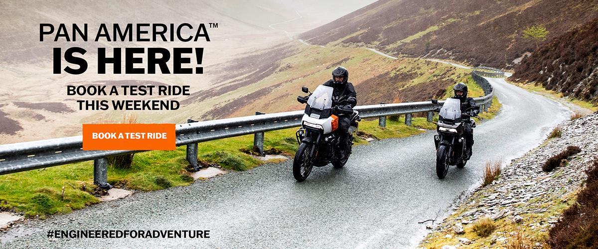 Pan America Test Ride