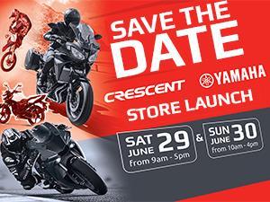 Crescent Yamaha Launch Open Weekend