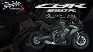 Honda CBR650R Black Edition