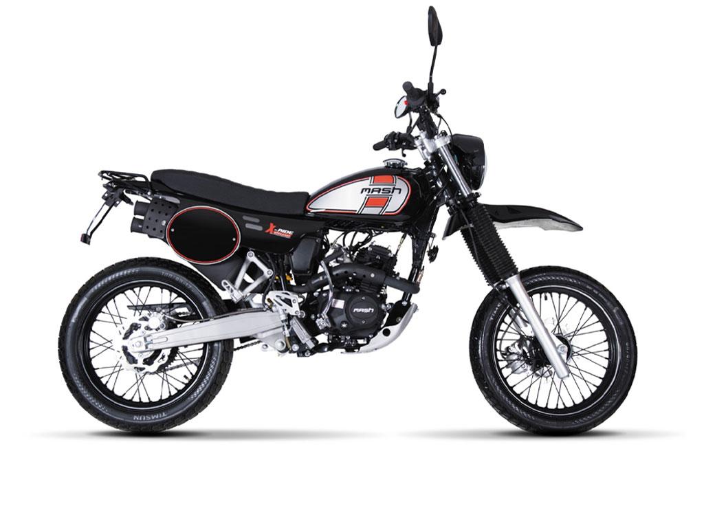 X-RIDE 50  Black