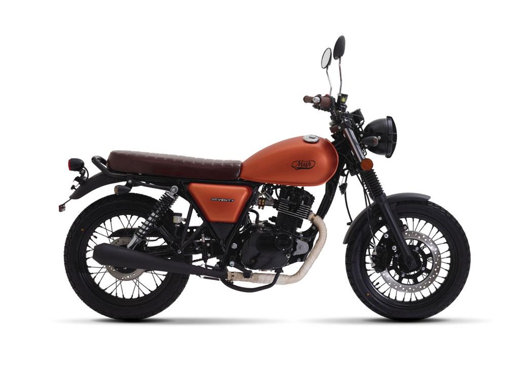 Seventy 125cc Copper